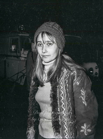 Now 7th 1974.  This young lady was photographed at the scene of the IRA bombing of the Kings arms pub..  I dont know who she is ,