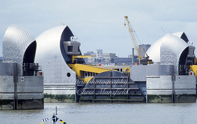 May 8th 1984 .  The Queen opens the Thames flood barrier