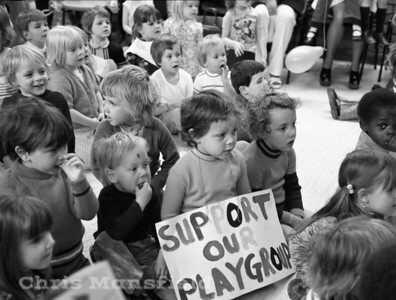 1974 Thamesmead playgroup appeal