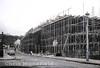 Harrow Manorway flyover under construction.  January 1975