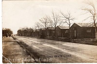 Arsenal workers makeshift homes on Bostal heath