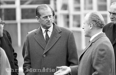 December 1968.  Prince Philip visits the Thamesmead site