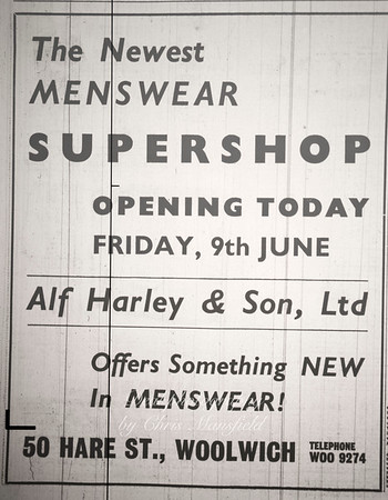 early 1961 .. Kentish Independent advert