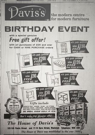 May 1961. Kentish Independent advert