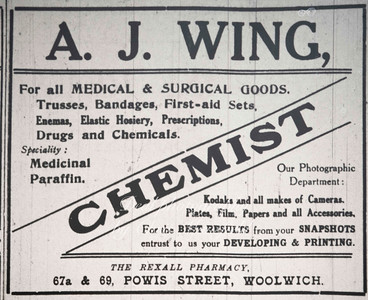 Kentish Independent advert 1926