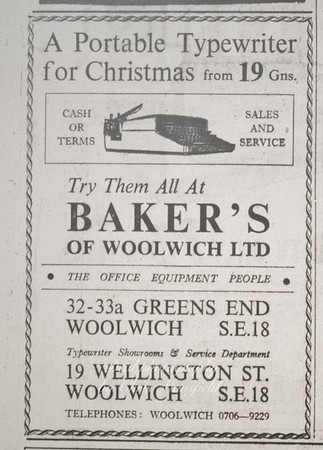 Late 1962 .. Kentish Independent advert