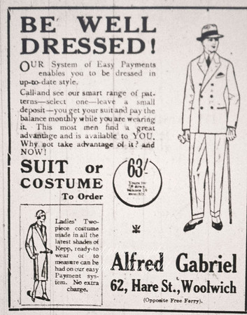 1926  Kentish independent advert