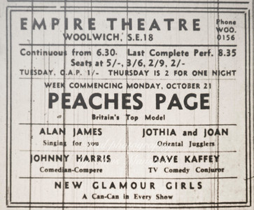 1957... Empire theatre