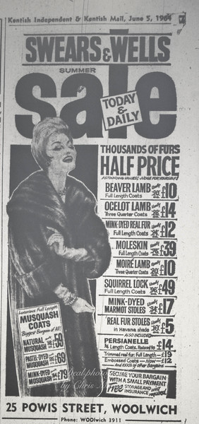 Kentish Independent advert June 1964