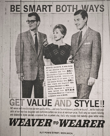 Kentish Independent advert  1961