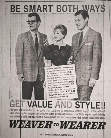 Kentish Independent advert  1961