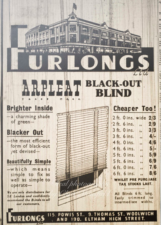 1940... Advert from Kentish Independent