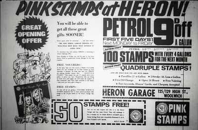 1968..  Advert, Kentish Independent