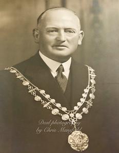 Mayor E. Lamerton 1944-1945