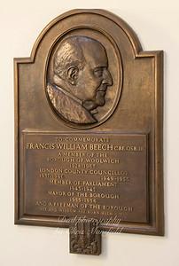 Mayor Francis Beech 1955 - 1956