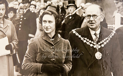 Mayor James Newman 1951-52  with Princess Margaret