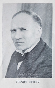 Henry Berry 1935 -36