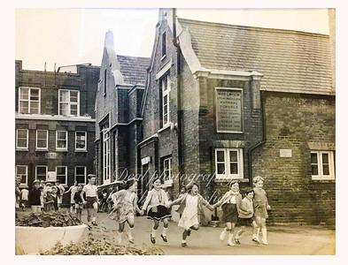 Approx'. 1960s..  St Mary Magdelene school . john wilson street