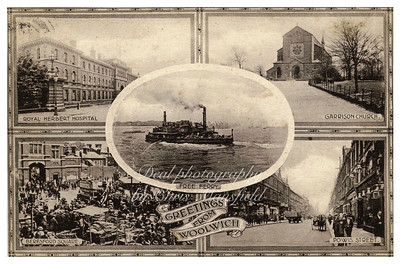 Multiview postcard