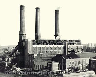 Early  1970s.. Woolwich Power Station