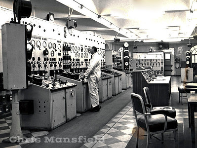 1975... Power Station Control room