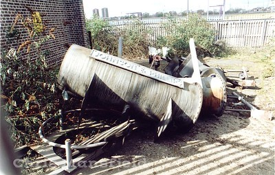 Early 1980s.. Last remnants of demolition