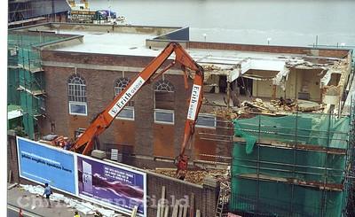 Power station demolition