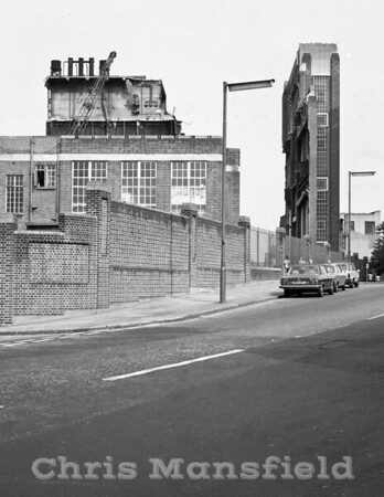 Approx' 1980 .. Power station Demolition
