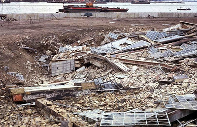 Approx' 1980 Power station demolition