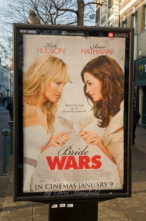 Jan' 8th 2009 ,  street advertising in Powis street