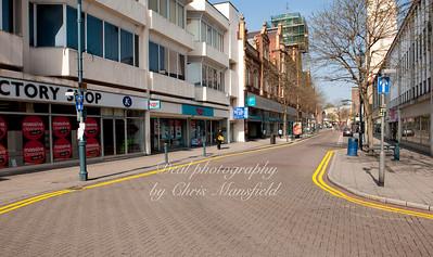 April 27th 2010 . Powis street