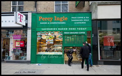 March 5th 2009. Percy Ingle opens on Powis street