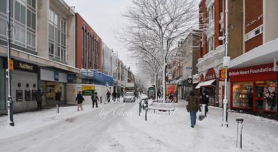 Feb' 2nd 2009... Powis street ,  snow