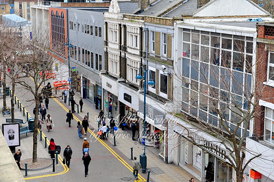 Feb' 18th 2009.. Powis street from McDonalds roof