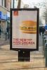 Jan 8th 2008 .   Powis st street advertising