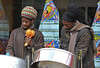 March 29th 2008 ..  Buskers in Powis street