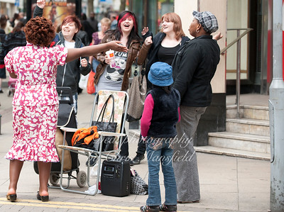 May 15th 2010 .. Street preacher