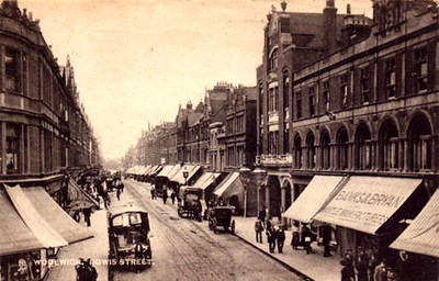 early 1900s Powis street