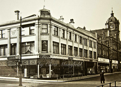 This was Furlongs furniture store on the corner of Barnard close where Argos and clarkes shoes now stand