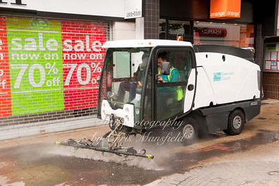 July 18th 2010 .. Powis street cleaning