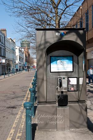 April 18th 2010 . Powis street