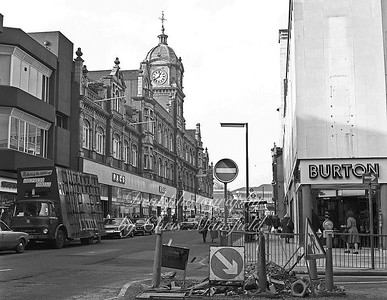 Feb' 1982... Powis street looking west