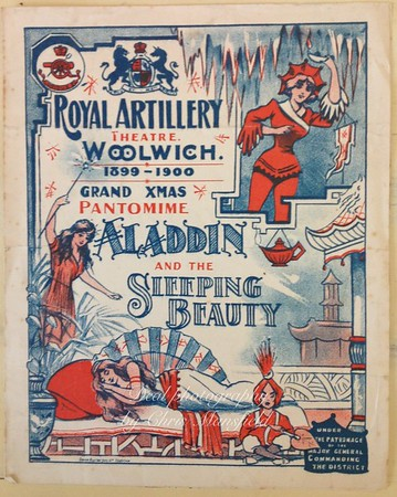 Old local  Theatre Programmes