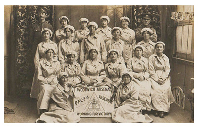 WW1 Arsenal Munitions workers