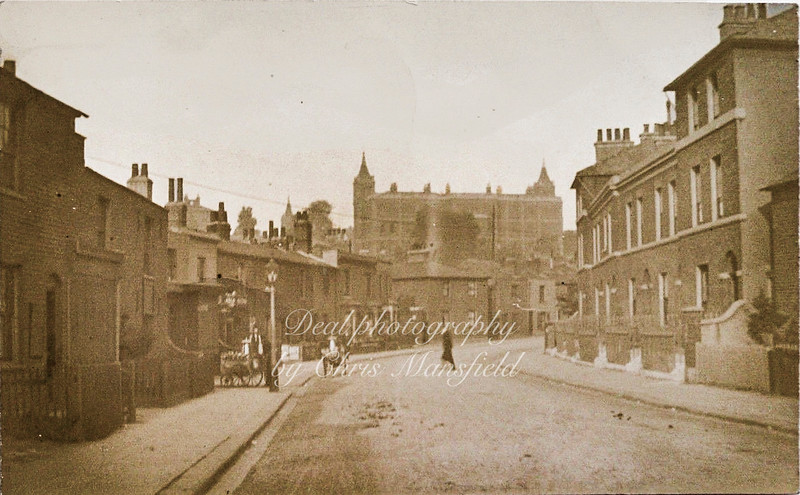 early 1900s view of the Red Barracks from King street ( now Kingsman street )