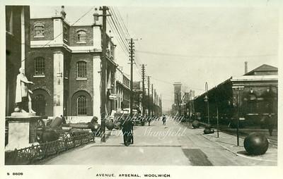 Old Arsenal postcard