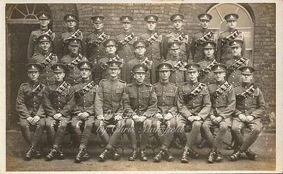 Approx' mid 1920s ..  Royal Artillery group