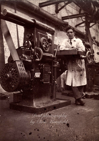 Arsenal worker, approx' late 1930s