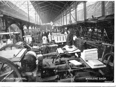 Postcard .. Wheelers shop