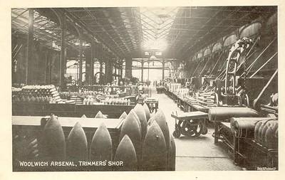 Old Postcard, Trimmers shop
